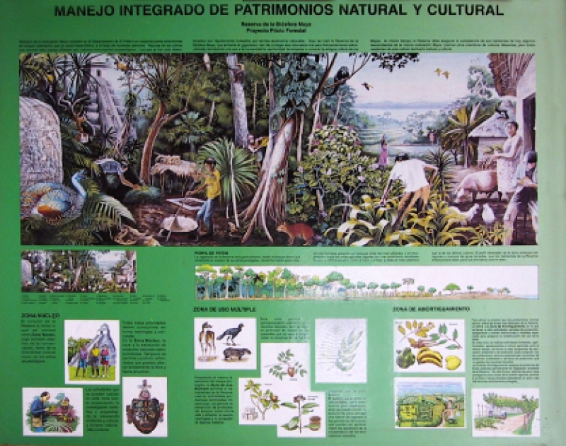Zoning in Tikal National Park 1992